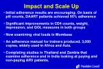 impact and scale up