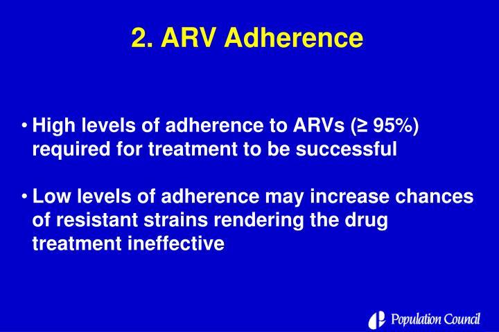 2. ARV Adherence