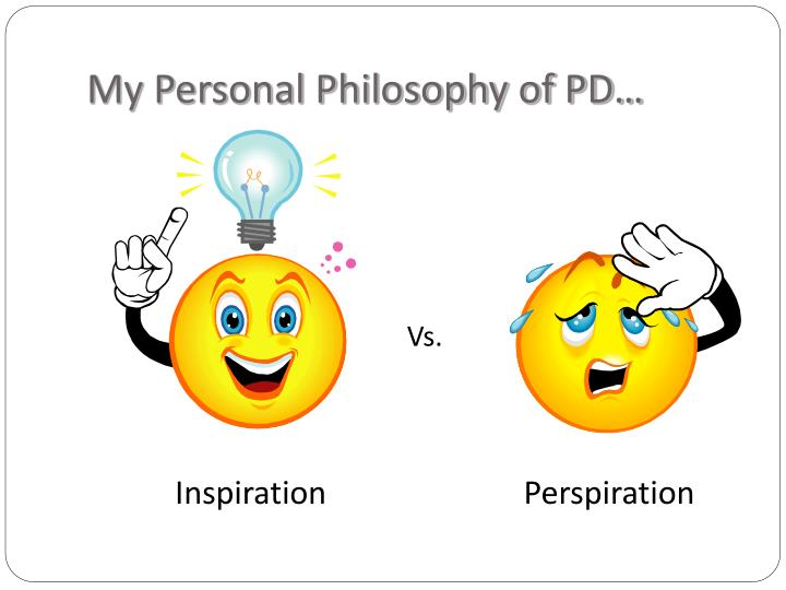 My personal philosophy of pd