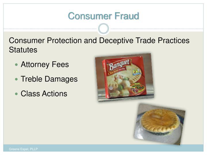Consumer Fraud