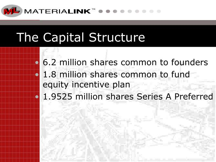 The Capital Structure