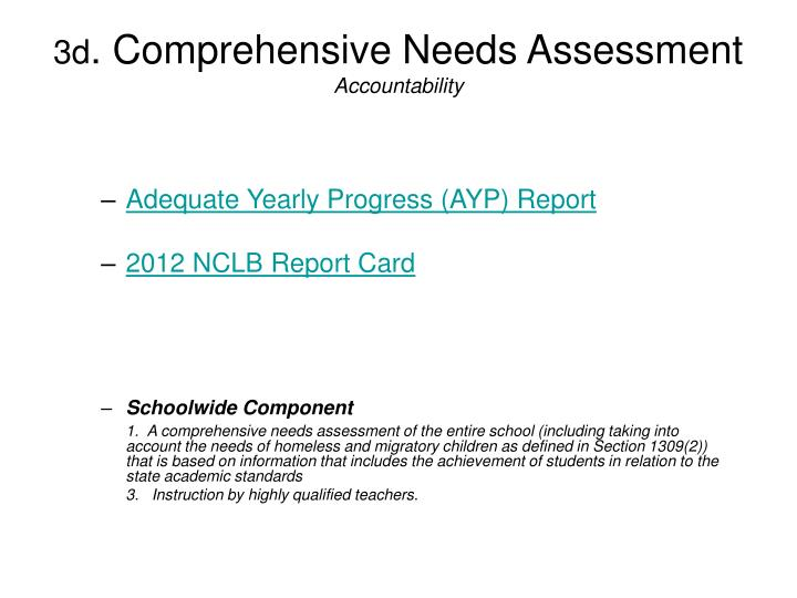 Adequate Yearly Progress (AYP) Report