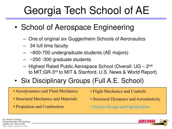 Georgia Tech School of AE