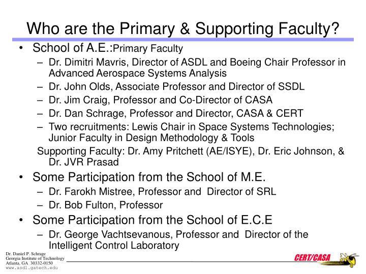 School of A.E.: