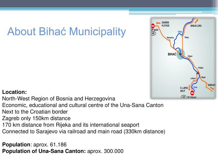 About Bihać Municipality