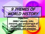 9 themes of world history