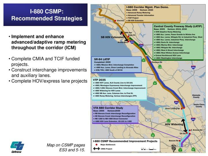 I-880 CSMP: