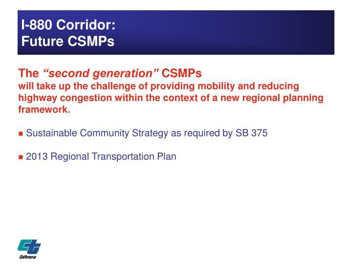 I-880 Corridor: