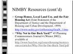 nimby resources cont d2