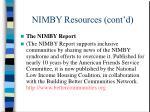 nimby resources cont d3