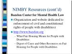 nimby resources cont d4