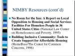 nimby resources cont d5