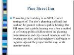 pine street inn