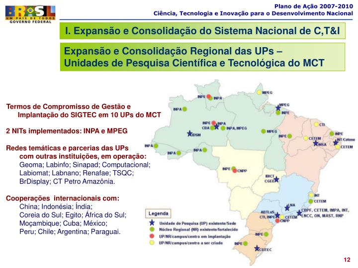 Plano de Ação 2007-2010