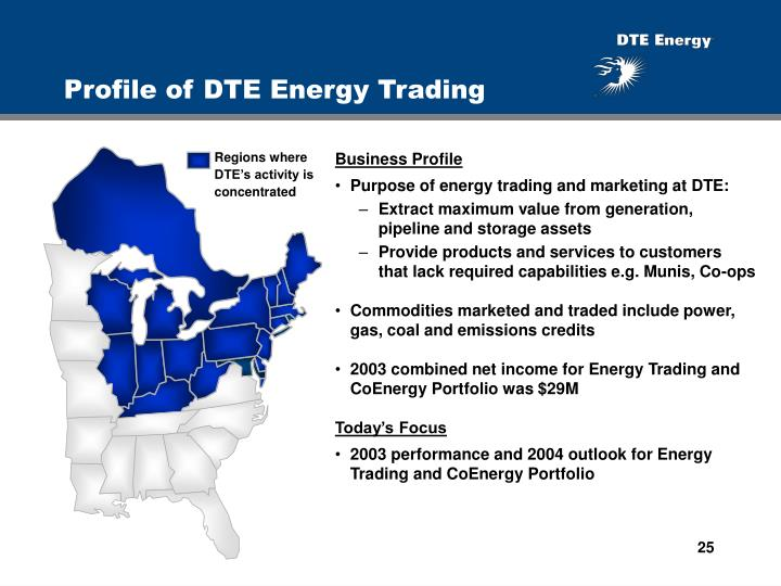 Profile of DTE Energy Trading