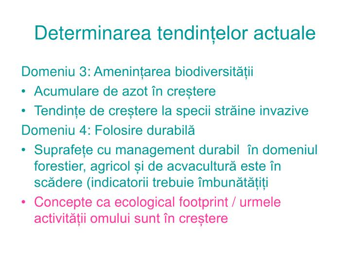Determinarea tendi
