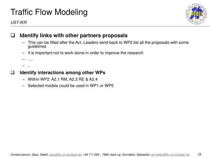 Traffic Flow Modeling