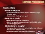 exercise prescription1