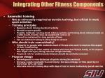 integrating other fitness components1