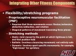 integrating other fitness components3