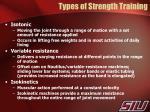 types of strength training1