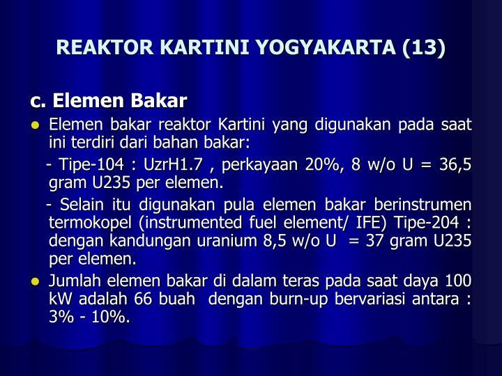 REAKTOR KARTINI YOGYAKARTA (13)