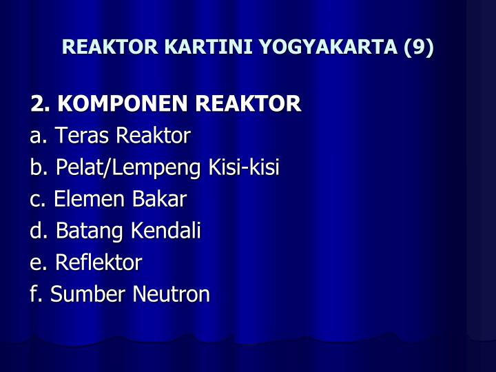 REAKTOR KARTINI YOGYAKARTA (9)