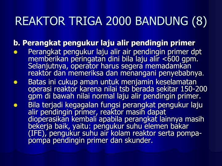 REAKTOR TRIGA 2000 BANDUNG (8)