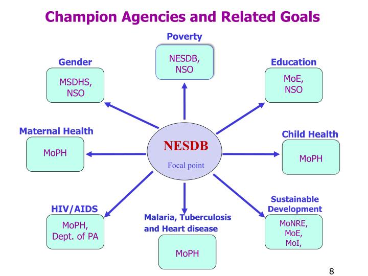 Champion Agencies and Related Goals