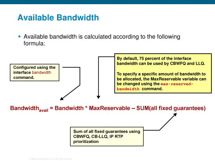 Available Bandwidth