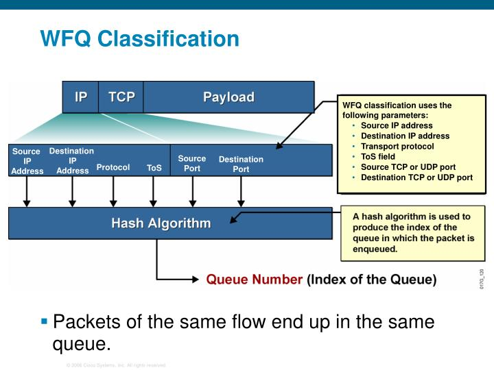 WFQ Classification