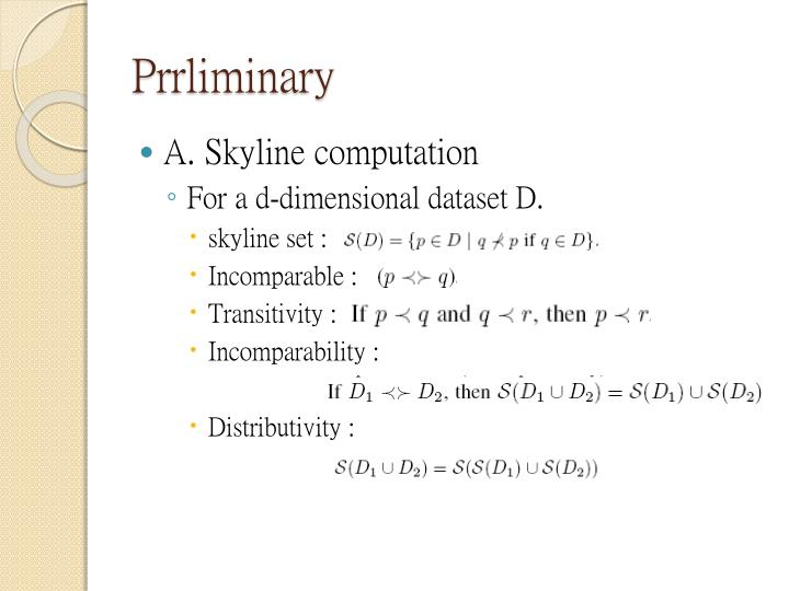Prrliminary