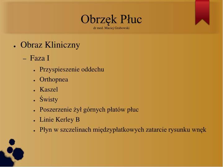 Obrzęk Płuc