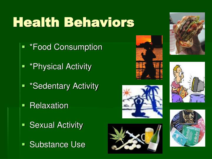 Health Behaviors