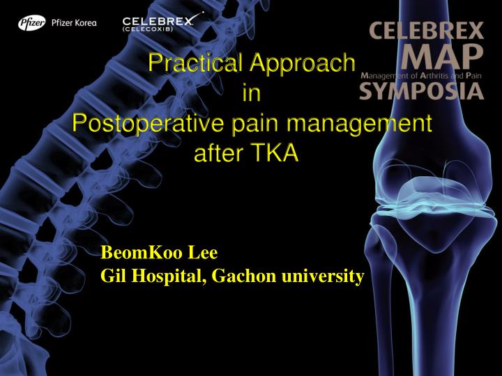 Practical approach in postoperative pain management after tka