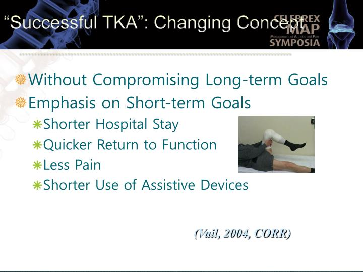 """Successful TKA"": Changing Concept"
