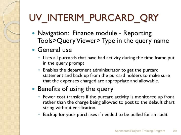 UV_INTERIM_PURCARD_QRY