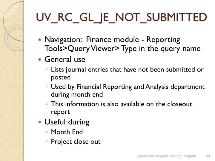 UV_RC_GL_JE_NOT_SUBMITTED