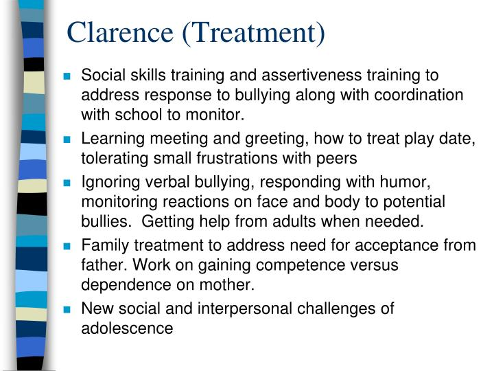 Clarence (Treatment)