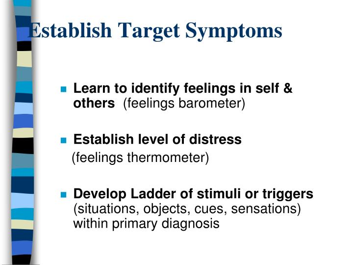 Establish Target Symptoms