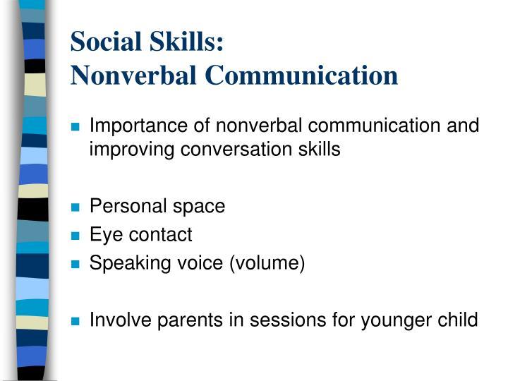 Social Skills: