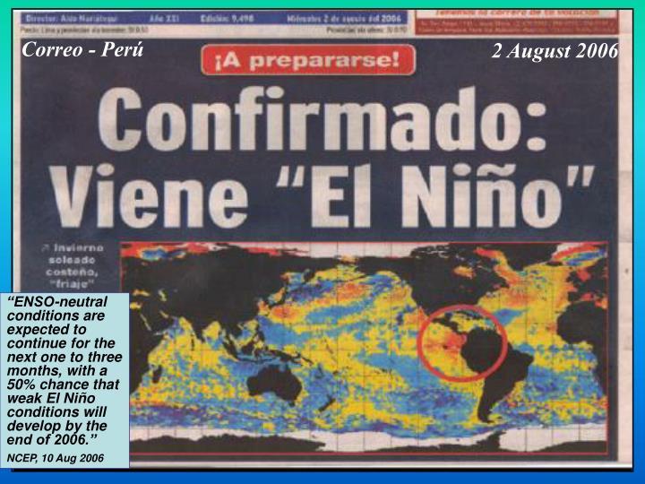 Correo - Perú
