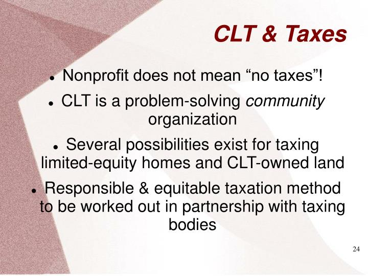 "Nonprofit does not mean ""no taxes""!"