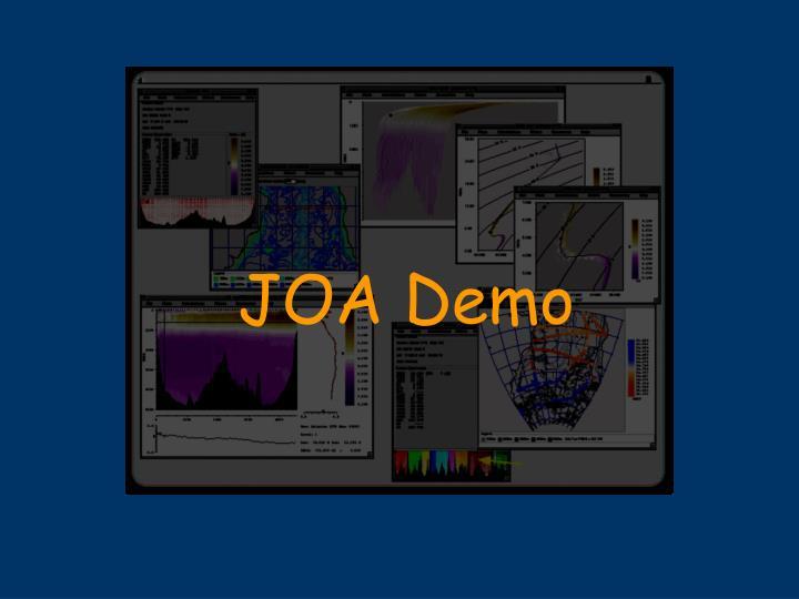 JOA Demo