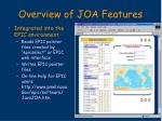 overview of joa features11