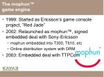 the mophun game engine1