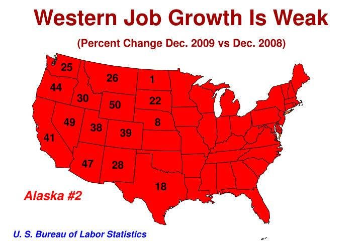 Western Job Growth Is Weak