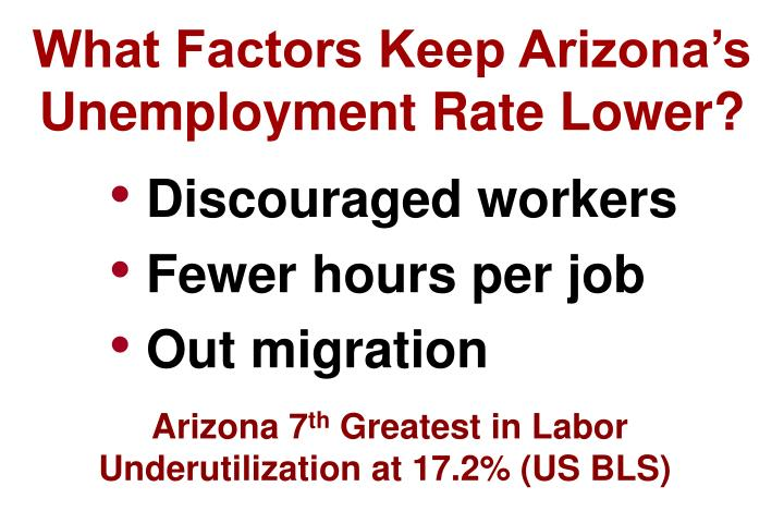 What Factors Keep Arizona's
