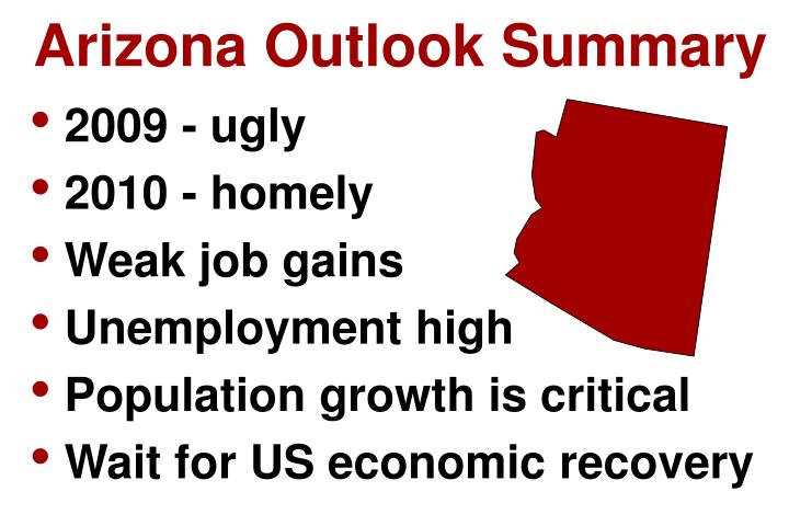 Arizona Outlook Summary