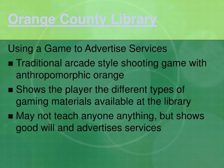 Orange County Library